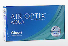 عدسات لاصقة Alcon AIR OPTIX AQUA (AIR OPTIX AQUA AOA6)