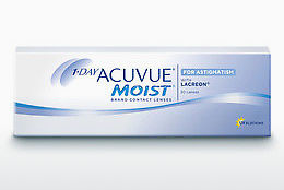 عدسات لاصقة Johnson & Johnson 1 DAY ACUVUE MOIST for ASTIGMATISM 1MA-30P-REV