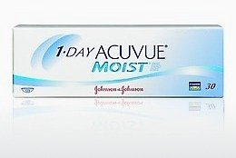 عدسات لاصقة Johnson & Johnson 1 DAY ACUVUE MOIST 1DM-90P-REV