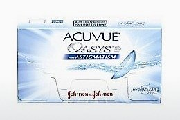 عدسات لاصقة Johnson & Johnson ACUVUE ADVANCE for ASTIGMATISM AGT-6P-REV