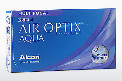 عدسات لاصقة Alcon AIR OPTIX AQUA MULTIFOCAL (AIR OPTIX AQUA MULTIFOCAL AOM6H)