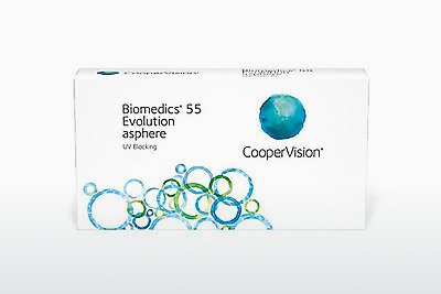 عدسات لاصقة Cooper Vision Biomedics 55 Evolution BMEU6