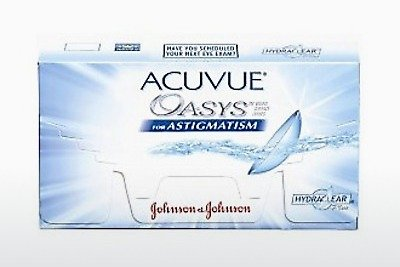 عدسات لاصقة Johnson & Johnson ACUVUE ADVANCE for ASTIGMATISM (ACUVUE ADVANCE for ASTIGMATISM AGT-6P-REV)