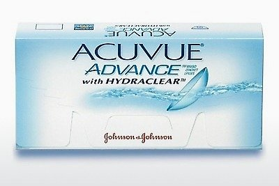 عدسات لاصقة Johnson & Johnson ACUVUE ADVANCE with HYDRACLEAR AVG-6P-REV