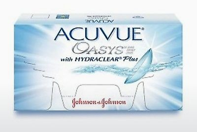 عدسات لاصقة Johnson & Johnson ACUVUE OASYS with HYDRACLEAR Plus PH-6P-REV