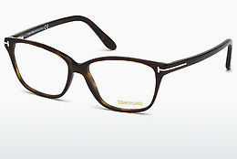 نظارة Tom Ford FT5293 052 - بني, Dark, Havana