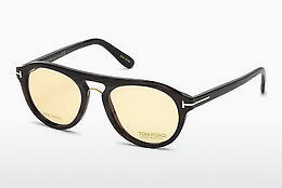 نظارة Tom Ford FT5438-P 64E - عاجي, Horn, Brown
