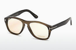 نظارة Tom Ford FT5440-P 64E - عاجي, Horn, Brown