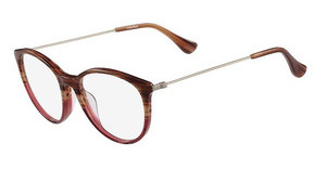 Calvin Klein CK5928 203 STRIPED BROWN ROSE