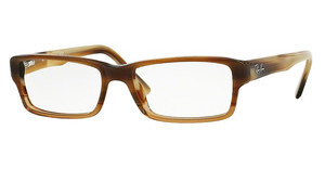 Ray-Ban RX5169 5542 BROWN HORN GRAD TRASP BEIGE