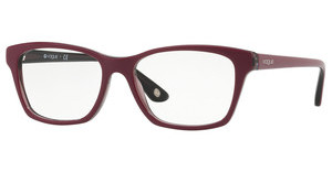 Vogue VO2714 2584 TOP DARK RED/RED TRANSP