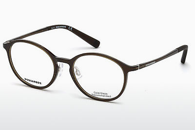 نظارة Dsquared DQ5219 045 - بني, Bright, Shiny