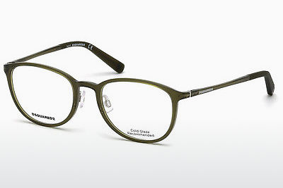 نظارة Dsquared DQ5220 093 - أخضر, Bright, Shiny