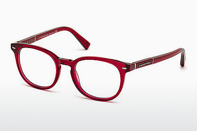 نظارة Ermenegildo Zegna EZ5036 069 - خمري, Bordeaux, Shiny