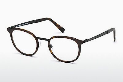 نظارة Ermenegildo Zegna EZ5048 053 - هافانا, Yellow, Blond, Brown