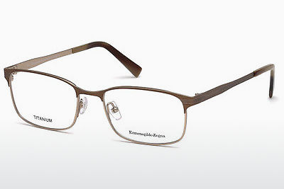 نظارة Ermenegildo Zegna EZ5049 034 - برونزي, Bright, Shiny