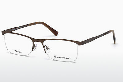 نظارة Ermenegildo Zegna EZ5079 034 - برونزي, Bright, Shiny