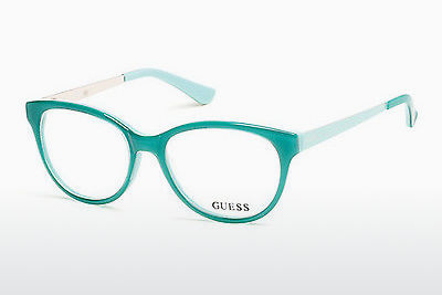 نظارة Guess GU2539 093 - أخضر, Bright, Shiny