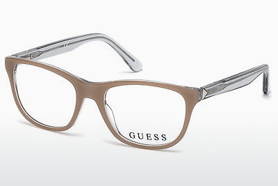 نظارة Guess GU2585 059 - عاجي, Beige, Brown