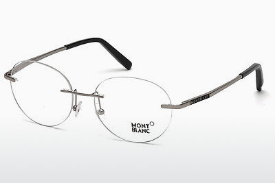 نظارة Mont Blanc MB0691 014 - رمادي, Shiny, Bright