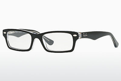 نظارة Ray-Ban Junior RY1530 3529 - أسود, شفافة