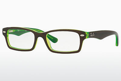 نظارة Ray-Ban Junior RY1530 3665 - بني, أخضر