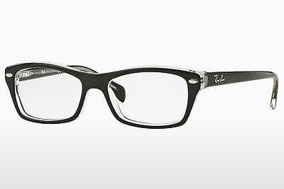 نظارة Ray-Ban Junior RY1550 3529 - أسود, شفافة