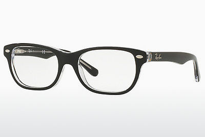 نظارة Ray-Ban Junior RY1555 3529 - أسود, شفافة