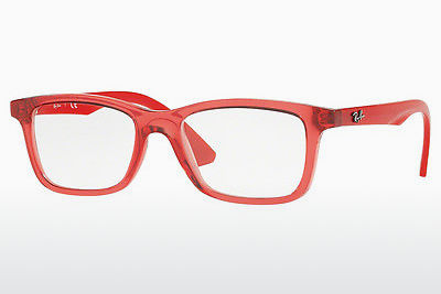 نظارة Ray-Ban Junior RY1562 3687 - شفافة, أحمر