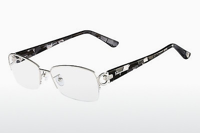 نظارة Salvatore Ferragamo SF2104R 045 - فضي