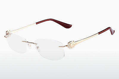 نظارة Salvatore Ferragamo SF2128R 688 - ذهبي