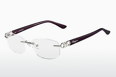 نظارة Salvatore Ferragamo SF2140R 045 - فضي