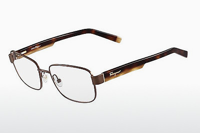 نظارة Salvatore Ferragamo SF2149 202 - بني