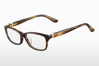 نظارة Salvatore Ferragamo SF2629R 210 - بني