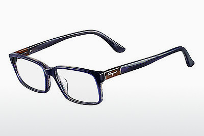 نظارة Salvatore Ferragamo SF2636 423 - أزرق, Horn