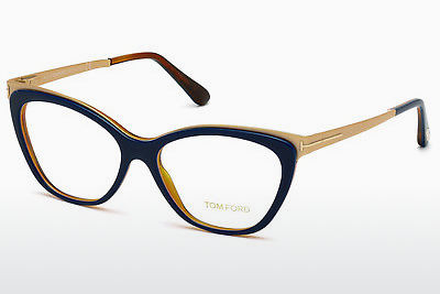 نظارة Tom Ford FT5374 090 - أزرق