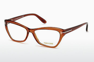 نظارة Tom Ford FT5376 042 - برتقالي, Shiny