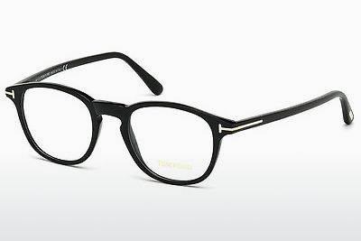 نظارة Tom Ford FT5389 001 - أسود, Shiny