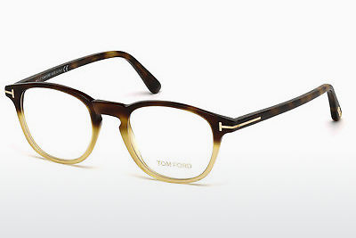 نظارة Tom Ford FT5389 053 - هافانا, Yellow, Blond, Brown