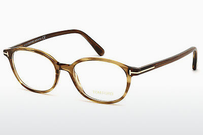 نظارة Tom Ford FT5391 048 - بني, Dark, Shiny