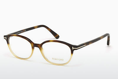 نظارة Tom Ford FT5391 053 - هافانا, Yellow, Blond, Brown