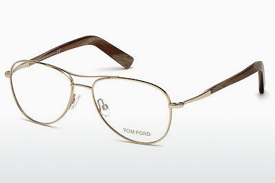 نظارة Tom Ford FT5396 028 - ذهبي