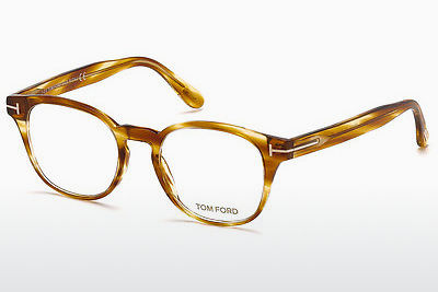 نظارة Tom Ford FT5400 053 - بني, هافانا, أصفر
