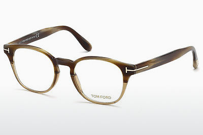 نظارة Tom Ford FT5400 65A - عاجي, Horn, Brown