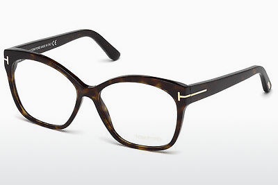 نظارة Tom Ford FT5435 052 - بني, Dark, Havana