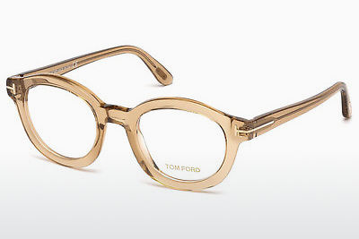 نظارة Tom Ford FT5460 045 - بني, Bright, Shiny