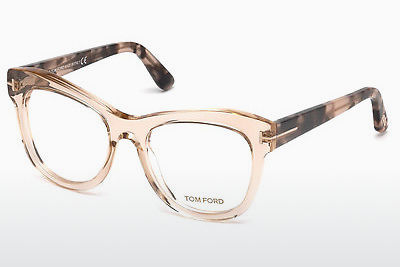 نظارة Tom Ford FT5463 045 - بني, Bright, Shiny