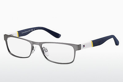 نظارة Tommy Hilfiger TH 1284 FO5 - فضي, أزرق