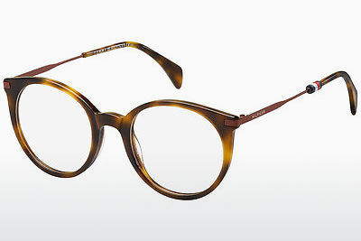 نظارة Tommy Hilfiger TH 1475 SX7 - بني, هافانا