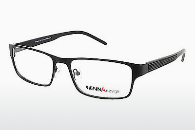 نظارة Vienna Design UN513 01 - Semi, أسود